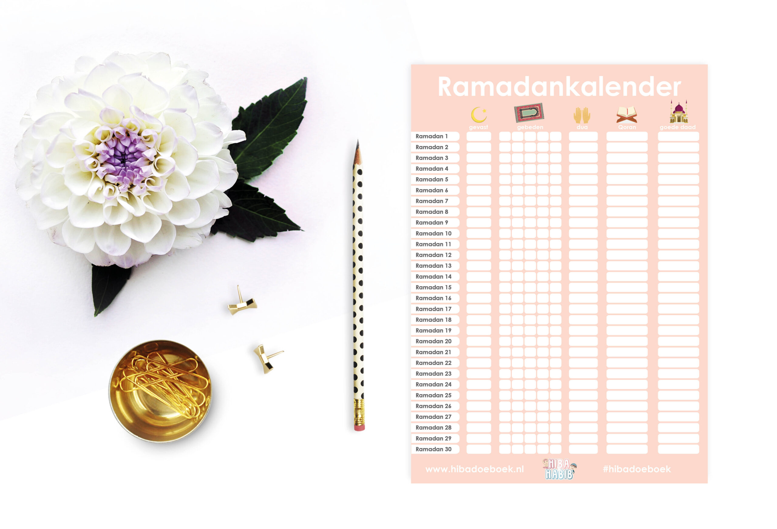 Ramadankalender 2019 Gratis download!