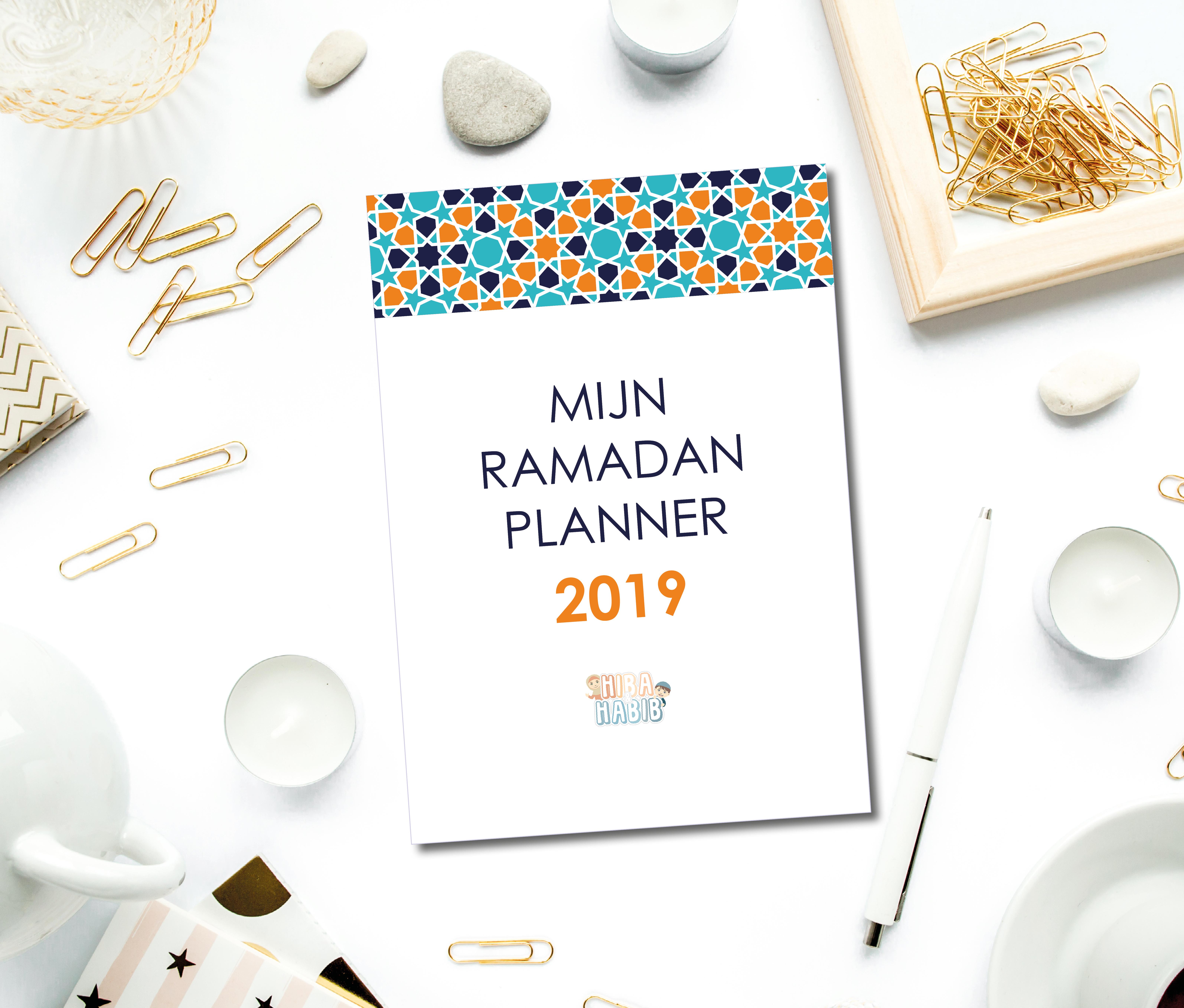 Ramadanplanner voor tieners (2019)